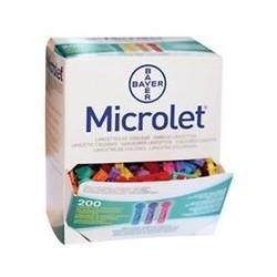 Microlet Lancettes colorées