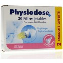 Physiodose Filtres Jetables