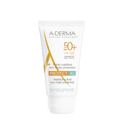 Aderma protect Ac fluide matifiant spf 50+