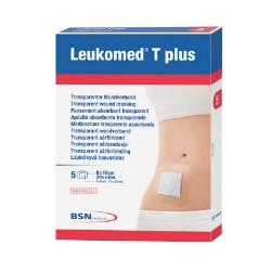 LEUKOMED T plus Pansement Adhésif 10 X 20, Boîte de 5