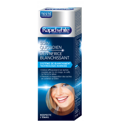 Bioes rapid white dentifrice de blanchiment 100ml