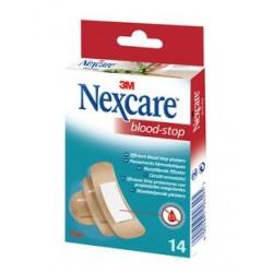 NEXCARE BLOOD STOP 14 Pansements assortis