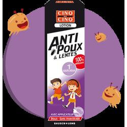 Cinq sur cinq Anti-poux et lentes lotion baume 100ml