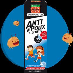Cinq sur cinq  Anti-poux et lentes Shampoing gel 100 ml + peigne