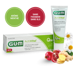 GUM ACTIVITAL Dentifrice Gel 75 ml