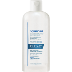 DUCRAY SQUANORM Shampoing traitant anti Pellicules Sèches 200 ml
