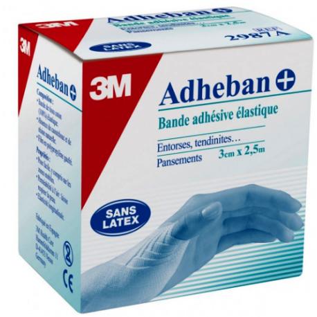 ADHEBAN Plus 3cm X 2,5m