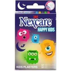 NEXCARE Pansements Happy Kids Monstres - 20 pansements