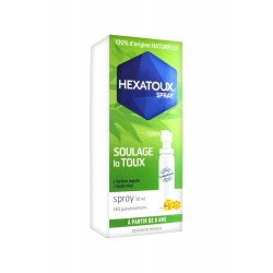 HEXATOUX soulage la toux Spray 30 ml