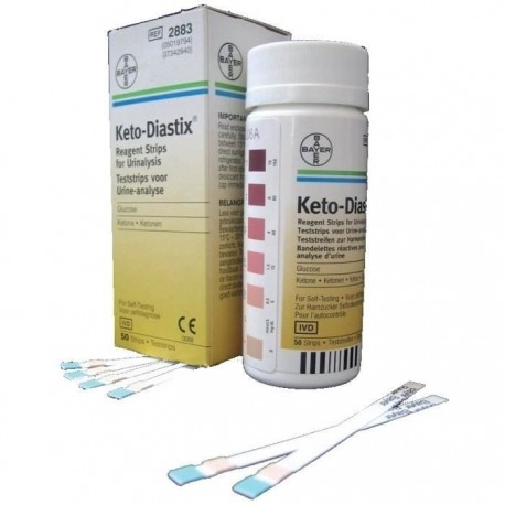 Keto Diastix Boîte de 50 bandelettes