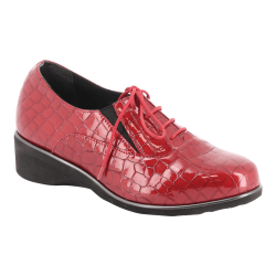 Chaussures Trevi Rouge Croco