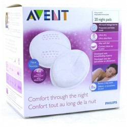 AVENT Coussinets d'allaitement jetables nuit  X 20