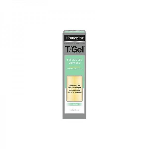 Neutrogena T/Gel Pellicules Grasses Shampoing ...