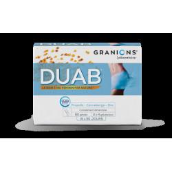 GRANIONS DUAB 60 Gélules