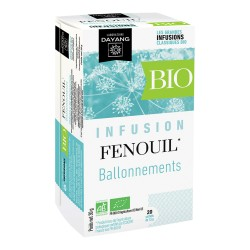 DAYANG Fenouil Bio 20 infusettes