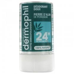 Dermophil Déodorant Doux Pierre d'Alun de Potassium 24H 115g