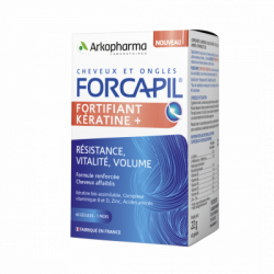 FORCAPILL Fortifiant et Keratine 3 mois