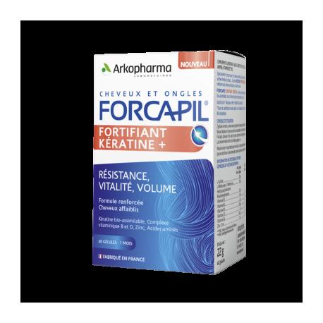 FORCAPILL Fortifiant et Keratine 3 mois