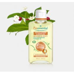 PURESSENTIEL Articulations Huile de Massage Bio Effort Musculaire 100 ml