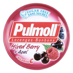 PULMOLL Fruits Rouges Sans Sucres