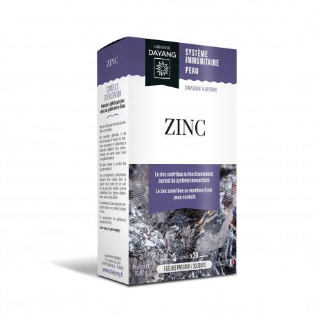 DAYANG ZINC Boîte de 30 gélules végétales