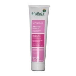 ARGILETZ Masque à l'Argile Rose Tube 100 ml