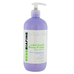 BébéBiafine Crème Lavante Cheveux et Corps Flacon 500 ml
