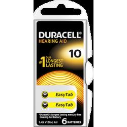 piles auditives duracell activair 10