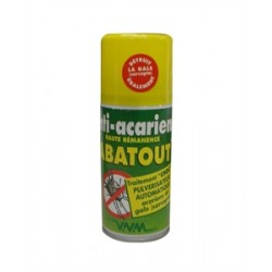Abatout laque anti-acariens choc fogger 405ml