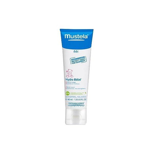 MUSTELA BEBE Hydra bébé crème visage tube 40ml - Pharmacie
