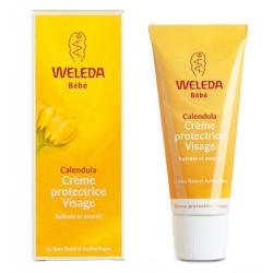 WELEDA BEBE Crème Protectrice Visage au Calendula 50 ml