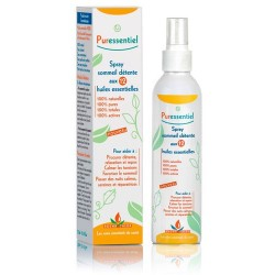 PURESSENTIEL Sommeil Détente Spray aux 12 huiles essentielles