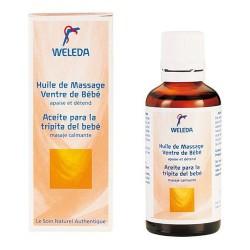 WELEDA Huile de Massage Ventre Bébé 50 ml