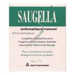 Saugella Antiseptique Boîte de 10 lingettes