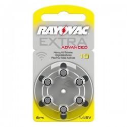 RAYOVAC 10 Piles auditives