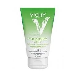 VICHY NORMADERM Gel Nettoyant 3 en 1 tube 125 ml