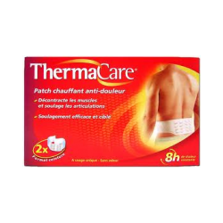 THERMACARE Patch Chauffant Dos ou hanches