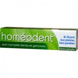 HOMEODENT Soin Complet Dents et gencives Chlorophylle 75ml