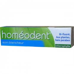 Homéodent soin blancheur chlorophylle 75ml