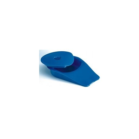 Bassin de lit Confort avec couvercle bleu