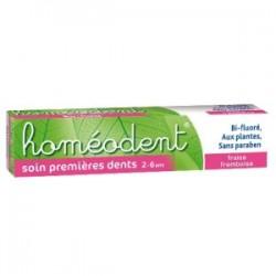 Homéodent soin premières dents 2 â 6 ans gel fraise framboise 50ml