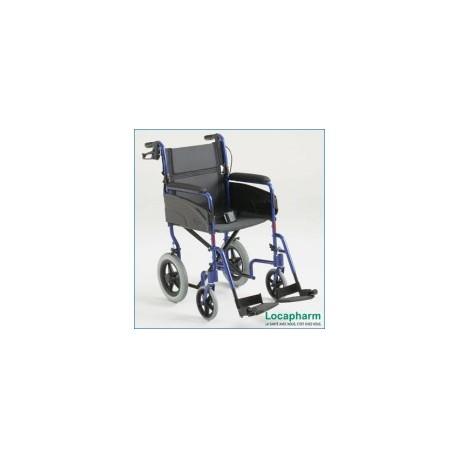 Fauteuil de transport à pousser Alu Lite assise 46 cm