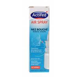 ACTIFED AIR SPRAY contre le nez bouché