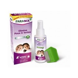 PARANIX Spray dimethicone + 1 peigne